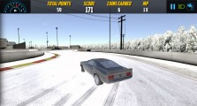 Burnout Drift: Snow Road Drift Race
