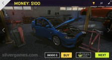 Burnout Extreme Drift 2: Car Selection