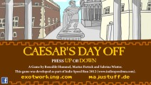 Caesar's Day Off: Menu