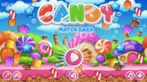 Candy Match Saga: Menu