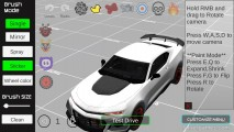Car Painting Simulator: Menu