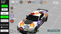Car Painting Simulator: Gameplay Car Sticker