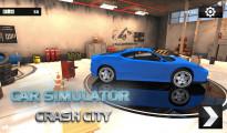 Car Simulator: Crash City: Menu