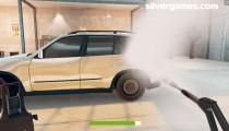 Car Wash Simulator: Gameplay High Water Pressure Wash