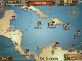 Caribbean Admiral: Gameplay Map