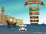Caribbean Admiral: Menu
