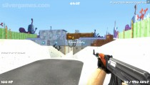 Cartoon Clash: Gameplay Multiplayer Shooter
