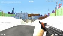 Cartoon Clash: Gameplay Multiplayer Shooter