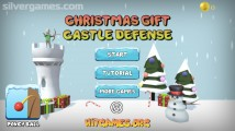 Christmas Castle Defense: Menu