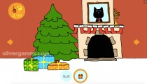 Рождественский кот: Gameplay Christmas Point And Click