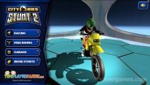 City Bike Stunt 2: Menu