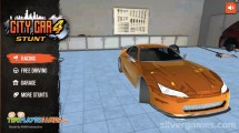 City Car Stunt 4: Menu