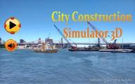 City Construction Simulator: Menu