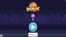 Flappy Dunk: Menu