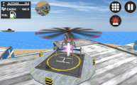 City Helicopter Flight: Helicopter Landing