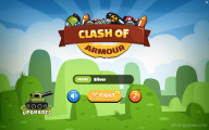 Clash Of Armour: Menu