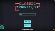 Classic Snake .io: Menu