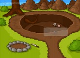 Clickventure: Castaway: Gameplay Click Point