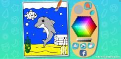 Juego De Colorear Para Niños: Gameplay