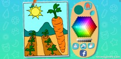 Juego De Colorear Para Niños: Ready