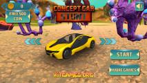 Concept Car Stunt: Menu