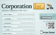 Corporation Inc.: Menu