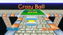 Crazy Ball Adventures: Menu