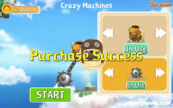 Crazy Machines: Menu