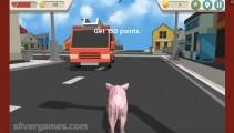 Simulador De Cerdo Desquiciado: Pig Gameplay City