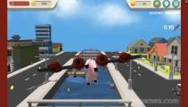 Verrücktes Schwein Simulator: Fyling Pig Gameplay