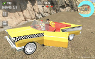 Crazy Taxi Simulator: Gameplay Cab Driver