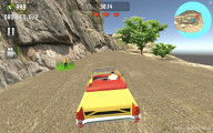Crazy Taxi Simulator: Driving Around Yellow Car Missions