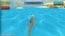 Simulateur De Crocodile: Beach Hunt