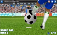 Crossbar Challenge: Gameplay Shooting Ball