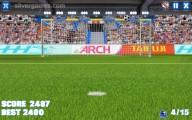 Crossbar Challenge: Gameplay Soccer Goal