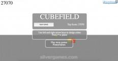 Cubefield 2: Menu