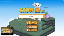 Cubic Castles: Menu