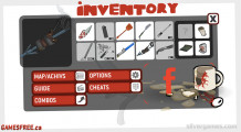 Cubikill 6: Inventory Weapons