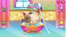 Cómo Cuidar A Un Lindo Gatito: Shower Cat Bath Gameplay