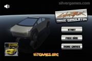 Cyber Truck Simulator: Menu