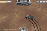 Cyber Truck Simulator: Gameplay Desert Driving