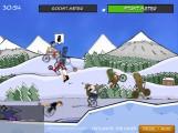 Cyclomaniacs: Gameplay Snow Racing Bicycle