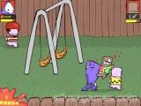 Dad 'n Me: Beat Up Gameplay