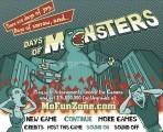 Days Of Monsters: Menu