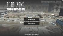 Dead Zone Sniper: Menu