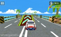 Deadly Car Race: Gameplay Stunt Hurdles Driving