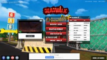 Deadwalk.io: Menu