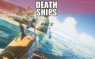 Death Ships Racing Simulator: Menu