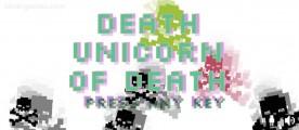 Death Unicorn Of Death: Menu