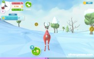 Deer Simulator Christmas: Deer Snowy Forest